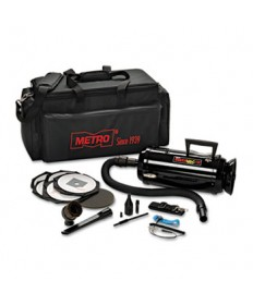 METRO VAC ANTI-STATIC VACUUM/BLOWER, INCLUDES STORAGE CASE HEPA AND DUST OFF TOOLS