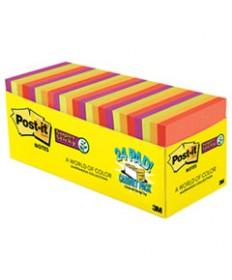 Pads In Marrakesh Colors, 3 X 3, 70-Sheet, 24/pack