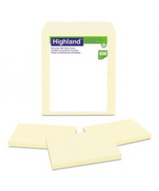 Recycled Self Stick Notes, 3 X 5, Yellow, 100 Sheets/pad, 12 Pads/pack