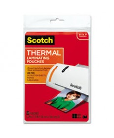 Id Badge Size Thermal Laminating Pouches, 5 Mil, 4 1/4 X 2 1/5, 100/pack
