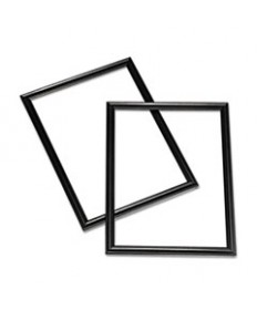 7105000528689, FRAME, BLACK, WOOD, 8 1/2 X 11