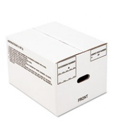 "8115001178249 SKILCRAFT RECORD ARCHIVAL STORAGE BOX, LETTER FILES, 12"" X 9.5"" X 14.75"", WHITE, 25/BUNDLE"