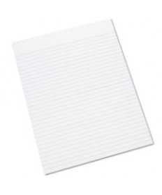 7530011245660, WRITING PAD, RULED, 8 1/2 X 11, WHITE, 100 SHEETS, DOZEN