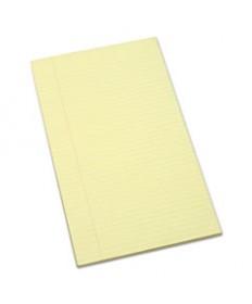 7530011247632, WRITING PAD, RULED, 8 1/2 X 13 1/4, CANARY, 100 SHEETS, 1 DOZEN