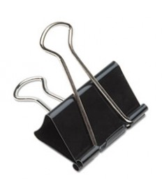 7510002855995, BINDER CLIP, TEMPERED STEEL WIRE HANDLES, 1 CAPACITY, 12/BOX