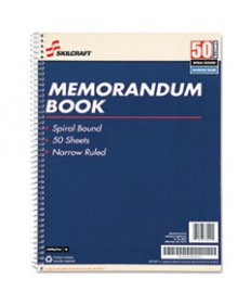 7530002866952, MEMO BOOK, RULED, 11 X 8 1/2, WHITE, 50 SHEETS, 12 PADS/PACK