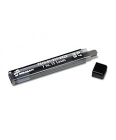 7510013176422, LEAD REFILL, MECHANICAL PENCIL, .7 MM, 2 HB, BLACK