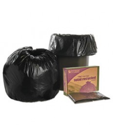 "8105013862290, SKILCRAFT RECYCLED CONTENT TRASH CAN LINERS, 30 GAL, 1.3 MIL, 30"" X 39"", BLACK/BROWN, 100/CARTON"