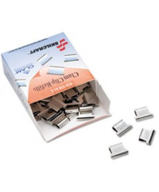 7510013926512, CLAM CLIPS REFILL, SMALL, STAINLESS STEEL, HOLDS 20PG, 50/BOX