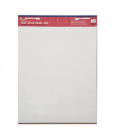 7530013930104 SKILCRAFT SELF-STICK EASEL PAD, 25 X 30, WHITE, 30 SHEETS, 2/PACK