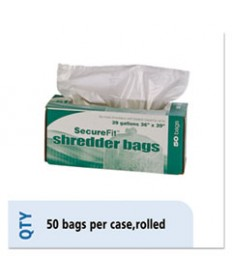 8105013994793, HEAVY-DUTY SHREDDER BAGS, 39 GAL CAPACITY, 50/BX