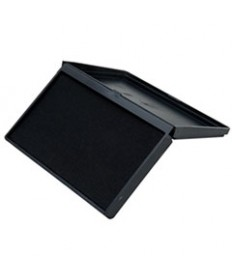 7510014316521, FELT STAMP PAD, 2 3/4 X 4 1/2 IN, SIZE #1, BLACK