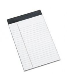 7530014471355 SKILCRAFT LEGAL PADS, WIDE/LEGAL RULE, 5 X 8, WHITE, 50 SHEETS, DOZEN