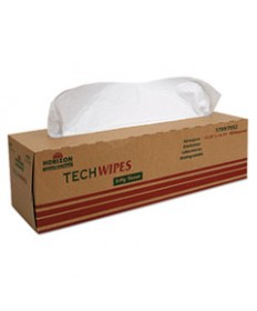 7920014487052, LOW-LINT WIPES, 15 1/4 X 16 1/2, WHITE, 90/DISPENSER, 3/CARTON