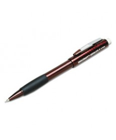 7520014512267, DUAL ACTION CUSHION GRIP MECHANICAL PENCIL, BURGUNDY, 6/BOX