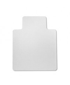 7220004576046, SKILCRAFT PVC CHAIR MAT, MEDIUM-TO-HIGH PILE CARPET, 36 X 48, CLEAR