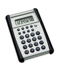 7420014844559, FLIP-UP POCKET CALCULATOR, 8-DIGIT DIGITAL