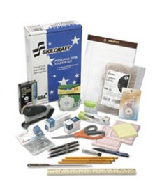 7520014936006, EMPLOYEE START-UP OFFICE KIT, 21 ITEMS-15 REQUIRED JWOD ITEMS