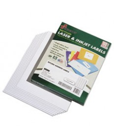7530015144911, RECYCLED LASER/INKJET ADDRESS LABELS, 1/2 X 1 3/4, 8000/BOX