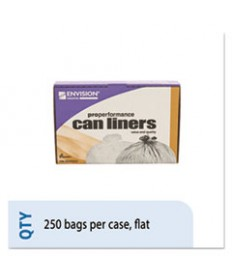 8105015171353, LOW-DENSITY TRASH CAN LINERS, 33 X 39, CLEAR, 250/BOX