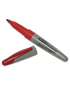 7520015194374 SKILCRAFT PERMANENT IMPRESSION MARKER, FINE BULLET TIP, RED, DOZEN