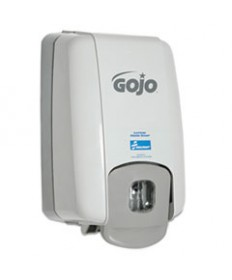 4510015219871, GOJO HAND SOAP DISPENSER, GRAY, 6 X 4 1/2 X 10 1/2