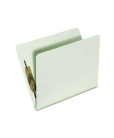 7530015567913, TOP TAB CLASSIFICATION FOLDERS, LETTER, 1-SECTION, GREEN, 25/CASE