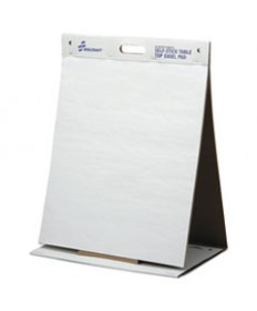 7530015772170, SELF STICK TABLETOP EASEL PAD, UNRULED, 20 X 23, WHITE, 20 SHEETS