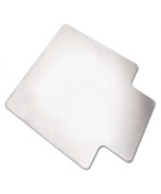 7220015772530, SKILCRAFT PVC CHAIR MATS, HIGH PILE CARPET, 60 X 46, CLEAR