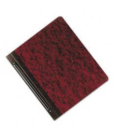 7510005824201, REPORT COVER, 8-1/2 X 11, RED, 3 CAPACITY, 25/BOX