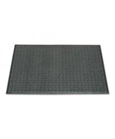 7220015826224, 3-MAT ENTRY SYSTEM SCRAPER/WIPER MAT, 36 X 60, GRAY