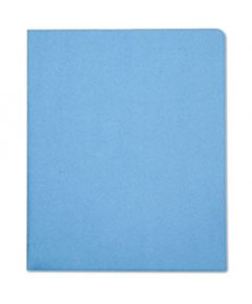 7510005842490, DOUBLE POCKET PORTFOLIO, LETTER SIZE, LIGHT BLUE, 25/BOX