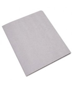 7510005842491, DOUBLE POCKET PORTFOLIO, LETTER SIZE, GRAY, 25/BOX