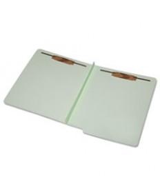 7530015907105 SKILCRAFT END TAB CLASSIFICATION FOLDERS, LETTER SIZE, LIGHT GREEN, 25/BOX