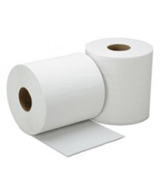 8540015909069, SKILCRAFT, CENTER-PULL PAPER TOWEL, WHITE, 600/ROLL, 6 ROLLS/BOX