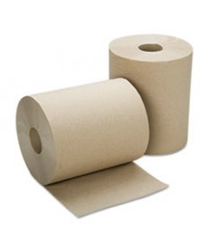 "8540015915146, SKILCRAFT, CONTINUOUS ROLL PAPER TOWEL, 8"" X 600 FT, NATURAL, 12 ROLLS/BOX"