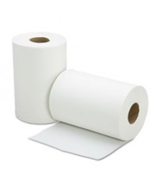 "8540015923021, SKILCRAFT, CONTINUOUS ROLL PAPER TOWEL, 8"" X 350 FT, WHITE, 12 ROLLS/BOX"