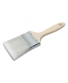 8020015964245, 3 Flat Sash Paint Brush, Polyester, Hardwood Handle