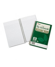 7530016002017, RECYCLED NOTEBOOK, COLLEGE RULE, 9 1/2 X 6, WHITE, 80/PAD, 3/PK