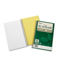 7530016002020, RECYCLED NOTEBOOK, COLLEGE RULE, 9 1/2 X 6, WHITE, 150/PAD, 3/PK