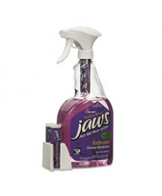 7930016005750, JAWS BATHROOM CLEANER/DEODORIZER, CITRUS, 6 BOTTLES/12 REFILLS