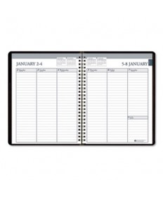 7530016007596 SKILCRAFT Weekly Appointment Planner, 8 3/4 x 6 7/8, Black/White, 2020
