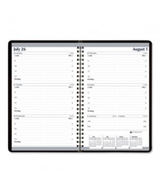 7530016007612 Weekly Appointment Planner, 8 x 5, Black/White, 2020