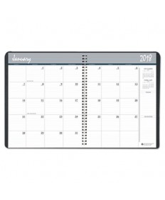 7530016007618 MONTHLY APPOINTMENT PLANNER, 8.5 X 11, BLACK/WHITE, 2019