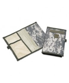 7530016188427 SKILCRAFT CAMO RECORD BOOK COVER, 6 X 9