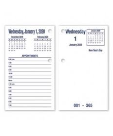 7510016648817 SKILCRAFT DAYMAX Type II Calendar Pad, 6 x 3.5, Blue, 2020