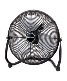 14 High-Velocity Floor Fan W/all Metal Construction, Adjustable Tilt, 3-Speed