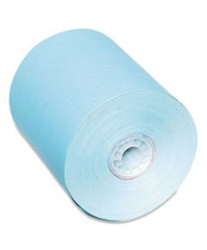 Direct Thermal Printing Thermal Paper Rolls, 3 1/8 X 230 Ft, Blue, 50/carton