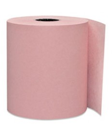 Direct Thermal Printing Thermal Paper Rolls, 3 1/8 X 230 Ft, Pink, 50/carton