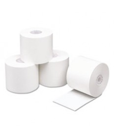 Direct Thermal Printing Thermal Paper Rolls, 2 1/4 X 230 Ft, White, 50/carton